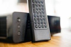 Contenitore di modem TV di Internet fornito dalla società dell'internet provider Fotografie Stock Libere da Diritti