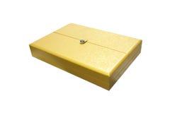 Contenitore di oro Fotografia Stock Libera da Diritti