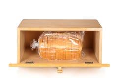 Contenitore di pane su bianco fotografie stock libere da diritti