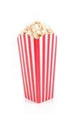 Contenitore di popcorn Immagini Stock Libere da Diritti