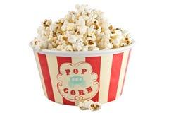 Contenitore di popcorn Fotografie Stock Libere da Diritti