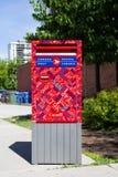 Contenitore di posta del Canada Immagine Stock