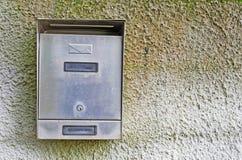 Contenitore di posta del metallo Fotografia Stock