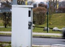 Contenitore di radar per controllo di velocità Fotografie Stock Libere da Diritti