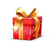 Contenitore di regalo Immagine Stock