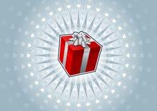 Contenitore di regalo royalty illustrazione gratis