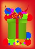 Contenitore di regalo. Immagine Stock