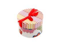 Contenitore di regalo colorato Immagini Stock