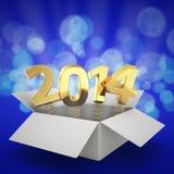 2014 sorprendente Immagine Stock