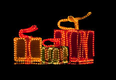 Contenitore di regalo decorativo unico Fotografie Stock