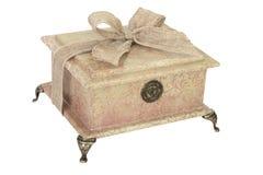 Contenitore di regalo decorato Immagini Stock