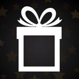Contenitore di regalo di carta illustrazione vettoriale