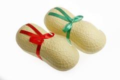 Contenitore di regalo di figura dell'arachide. Immagine Stock Libera da Diritti