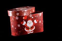 Contenitore di regalo di inverno Fotografie Stock Libere da Diritti