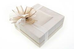 Contenitore di regalo di lusso Immagini Stock Libere da Diritti