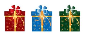 Contenitore di regalo di Natale royalty illustrazione gratis