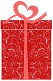 Contenitore di regalo - illustrazione di vettore Fotografie Stock
