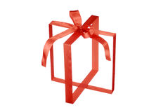 Contenitore di regalo invisibile fotografie stock