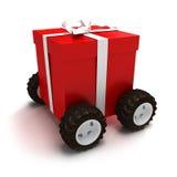 Contenitore di regalo motorizzato Immagini Stock