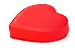Contenitore di regalo nella forma del cuore Fotografie Stock