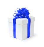 Contenitore di regalo operato Fotografia Stock