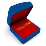 Contenitore di regalo per successo Fotografia Stock