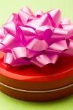 Contenitore di regalo rosso Immagine Stock