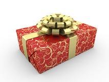 Contenitore di regalo rosso Royalty Illustrazione gratis