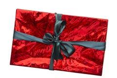 Contenitore di regalo rosso Fotografie Stock