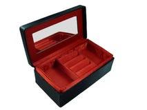 Contenitore di regalo rosso Fotografia Stock Libera da Diritti