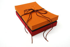 Contenitore di regalo - seta tailandese Fotografie Stock