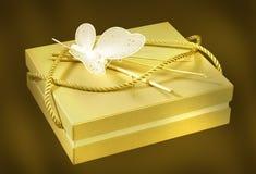 Contenitore di regalo speciale fotografia stock