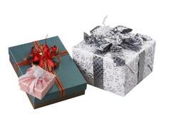 Contenitore di regalo variopinto Immagini Stock