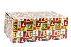 Contenitore di regalo variopinto Fotografia Stock