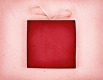 Contenitore di regalo vuoto fatto a mano Fotografia Stock Libera da Diritti