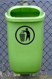 Contenitore di rifiuti Immagine Stock