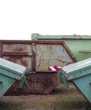 Contenitore di rifiuti Fotografie Stock Libere da Diritti