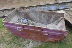 Contenitore di rifiuti Fotografia Stock Libera da Diritti