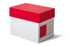 Contenitore di scatola Fotografia Stock