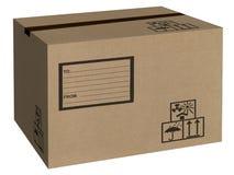 Contenitore di scatola Immagine Stock