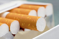 Contenitore di sigaretta Fotografia Stock Libera da Diritti