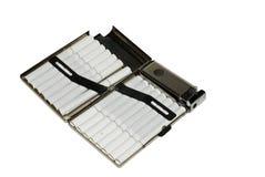 Contenitore di sigaretta del metallo Fotografia Stock