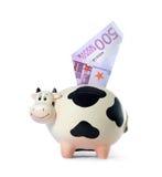 Contenitore di soldi Immagini Stock Libere da Diritti