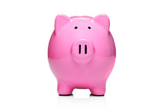 Contenitore di soldi di stile della banca Piggy Fotografia Stock