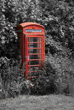 Contenitore di telefono britannico Fotografia Stock