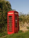 Contenitore di telefono rosso fotografia stock libera da diritti