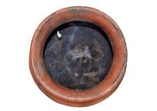 contenitore di terracotta Fotografie Stock