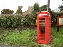 Contenitore inglese di telefono Immagini Stock