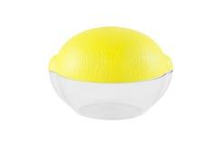 Contenitore per i limoni Immagine Stock
