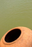 Contenitore tailandese dell'acqua Fotografia Stock